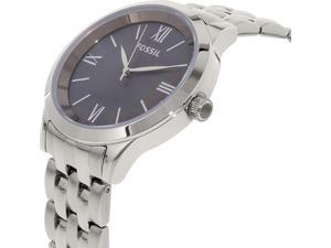 Fossil BQ1758 Women's Ainsley Silver Stainless-Steel Quartz Watch