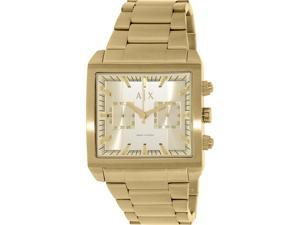 Armani Exchange Men's AX2226 Gold Stainless-Steel Quartz Watch