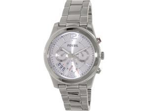 Fossil Women's Perfect Boyfriend ES3883 Silver Stainless-Steel Quartz Watch