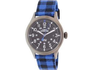 Timex Men's Expedition TW4B02100 Blue Nylon Automatic Watch