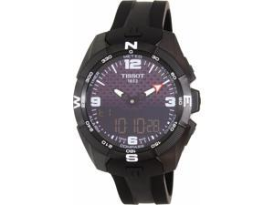 Tissot Men's T-Touch T091.420.47.057.01 Black Rubber Swiss Multifunction Watch