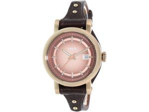 Fossil Women's Original Boyfriend ES3910 Brown Leather Quartz Watch