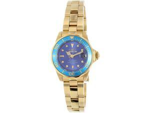 Invicta Women's Pro Diver INV-21536 Gold Stainless-Steel Swiss Quartz Watch