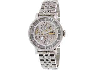 Fossil Women's Original Boyfriend ME3067 Silver Stainless-Steel Automatic Watch