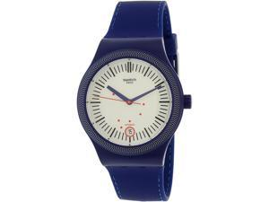 Swatch Men's Originals SUTN401 Blue Silicone Automatic Watch