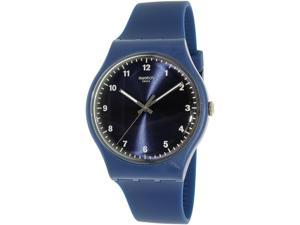 Swatch Men's Originals SUON116 Blue Silicone Swiss Quartz Watch