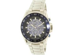 Michael Kors Men's Jetmaster MK9024 Silver Stainless-Steel Automatic Watch