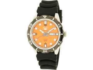 Seiko Men's Automatic SRP675K Black Rubber Automatic Watch