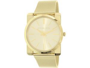 Michael Kors Women's Kempton MK3496 Gold Stainless-Steel Quartz Watch