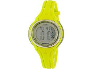 Timex Women's Ironman TW5K97700 Green Silicone Quartz Watch