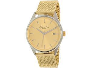 Kenneth Cole Women's New York 10029401 Gold Stainless-Steel Quartz Watch