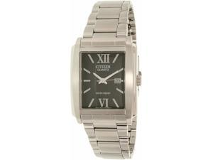 Citizen Men's BH1640-59E Silver Stainless-Steel Quartz Watch