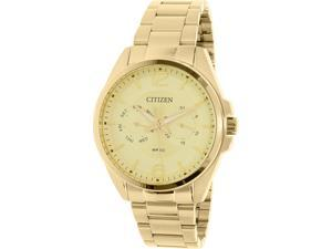Citizen Women's AG8322-50P Gold Stainless-Steel Quartz Watch