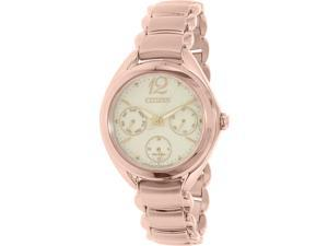 Citizen Women's FD2023-56A Gold Stainless-Steel Eco-Drive Watch