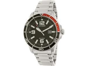 Citizen Men's AW1520-51E Silver Stainless-Steel Eco-Drive Watch