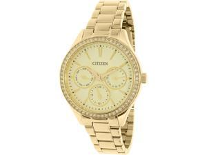 Citizen Women's ED8162-54P Gold Stainless-Steel Quartz Watch