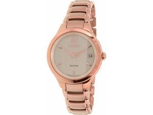 Citizen Women's EO1163-57P Bronze Stainless-Steel Eco-Drive Watch