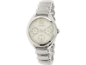 Citizen Women's FD2020-54D Silver Stainless-Steel Eco-Drive Watch