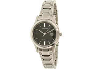 Citizen Women's FE1081-59E Silver Stainless-Steel Eco-Drive Watch