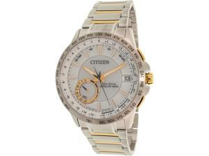 Citizen Men's Eco-Drive CC3004-53A Silver Stainless-Steel Eco-Drive Watch