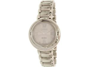 Citizen Women's Eco-Drive EX1120-53X Silver Stainless-Steel Eco-Drive Watch