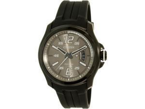 Citizen Men's Eco-Drive AW1354-07H Black Silicone Eco-Drive Watch