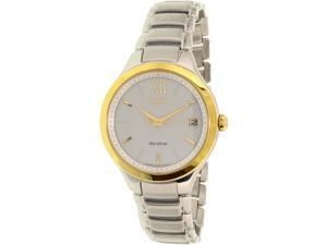 Citizen Women's Eco-Drive EO1164-54A Silver Stainless-Steel Eco-Drive Watch