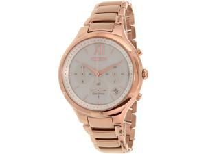 Citizen Women's Eco-Drive FB4013-51A Gold Stainless-Steel Eco-Drive Watch
