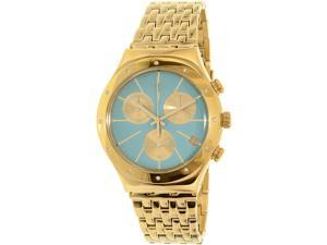 Swatch Women's Irony YCG413G Gold Stainless-Steel Swiss Quartz Watch