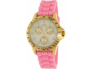 Invicta Women's Speedway 21982 Pink Silicone Quartz Watch