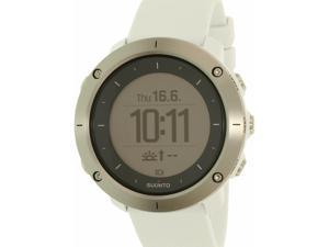 Suunto Men's Traverse SS021842000 White Rubber Quartz Watch