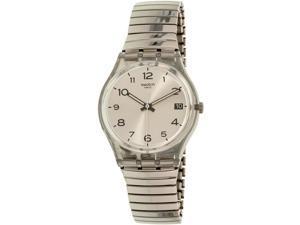 Swatch Men's Gent GM416A Silver Stainless-Steel Quartz Watch