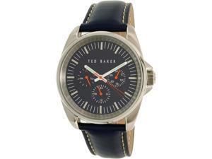 Ted Baker Men's 10025259 Blue Leather Quartz Watch