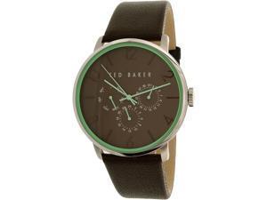 Ted Baker Men's 10023496 Brown Leather Quartz Watch