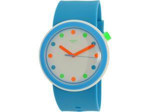 Swatch Men's Originals PNW102 Blue Silicone Quartz Watch