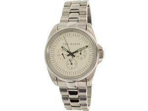 Ted Baker Men's 10025264 Silver Stainless-Steel Quartz Watch
