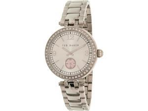 Ted Baker Women's 10023475 Silver Stainless-Steel Quartz Watch