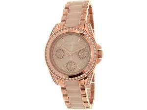 Michael Kors Women's Blair MK6175 Rose Gold Stainless-Steel Quartz Watch