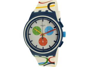 Swatch Men's Originals SUSN100 Multi Silicone Quartz Watch