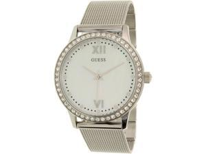 Guess Women's U0785L1 Silver Stainless-Steel Quartz Watch