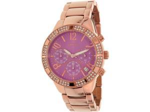 Guess Women's U0141L7 Rose Gold Stainless-Steel Quartz Watch