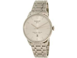Tissot Men's T-Classic T099.407.11.037.00 Silver Stainless-Steel Swiss Automatic Watch