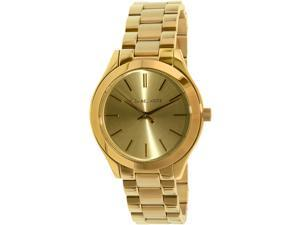 Michael Kors Women's Runway MK3512 Gold Stainless-Steel Quartz Watch