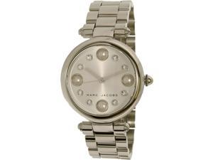 Marc By Marc Jacobs Women's Dotty MJ3475 Silver Stainless-Steel Quartz Watch