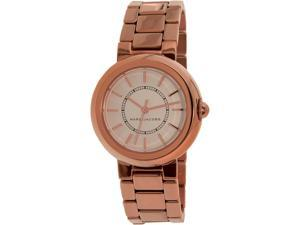 Marc By Marc Jacobs Women's Courtney MJ3466 Rose-Gold Stainless-Steel Quartz Watch