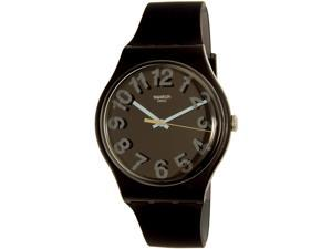 Swatch Men's Secret Numbers SUOB133 Black Rubber Swiss Quartz Watch