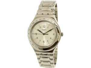 Swatch Women's Silver Joe YGS471G Silver Stainless-Steel Swiss Quartz Watch