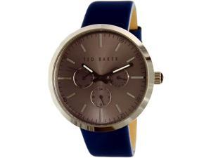 Ted Baker Men's Smart Casual 10026553 Blue Leather Analog Quartz Watch