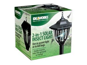 Ideaworks 2-In-1 Solar Insect Light