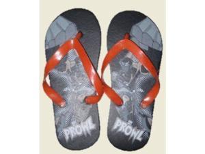 Transformers Black Prowl Flip Flops Beach Sandals Thongs Boys size 7/8
